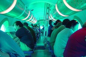 Туристы смогут погрузиться в акваторию Анталии на подводной лодке